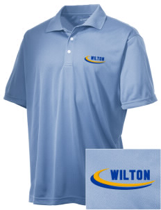 Our Lady of Fatima Parish Wilton Embroidered Men's Double Mesh Polo