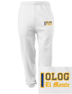 Our Lady of Guadalupe Parish El Monte Embroidered Men's Sweatpants with Pockets