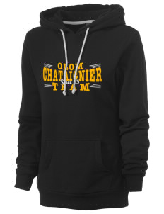 Our Lady of Mount Carmel Church Chataignier Women's Core Fleece Hooded Sweatshirt