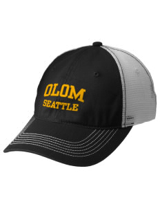 Our Lady of Mount Virgin Parish Seattle Embroidered Mesh Back Cap