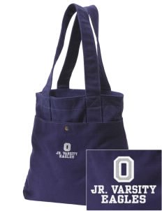 Oakwood Elementary School Eagles Embroidered Alternative The Berkeley Tote