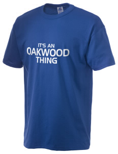 Oakwood Elementary School Eagles  Russell Men's NuBlend T-Shirt