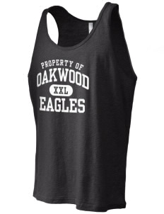 Oakwood Elementary School Eagles Men's Jersey Tank