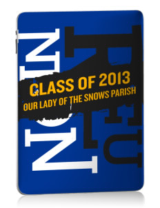 Our Lady of The Snows Parish Westwood Apple iPad Skin