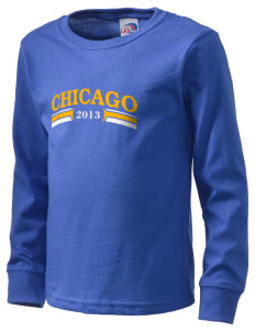 Precious Blood Parish Chicago  Kid's Long Sleeve T-Shirt