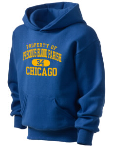 Precious Blood Parish Chicago Kid's Hooded Sweatshirt