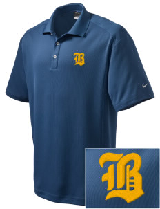 Resurrection Mission Belington Embroidered Nike Men's Dri-Fit Classic Polo
