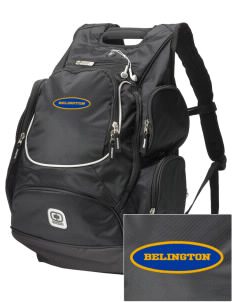 Resurrection Mission Belington  Embroidered OGIO Bounty Hunter Backpack