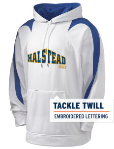 Sacred Heart of Jesus Parish Halstead Holloway Men's Sports Fleece Hooded Sweatshirt with Tackle Twill