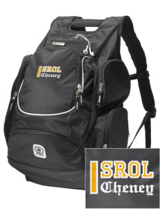 Saint Rose of Lima Cheney  Embroidered OGIO Bounty Hunter Backpack