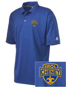 Saint Rose of Lima Cheney Embroidered Russell Coaches Core Polo Shirt