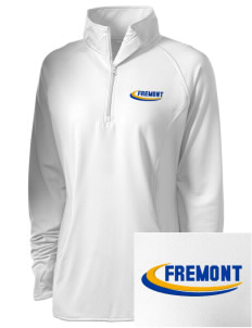 Santa Paula Parish Fremont Embroidered Ladies Stretched Half-Zip Pullover
