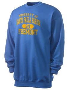 Santa Paula Parish Fremont Men's 7.8 oz Lightweight Crewneck Sweatshirt