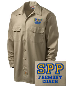 Santa Paula Parish Fremont Embroidered Dickies Men's Long-Sleeve Workshirt