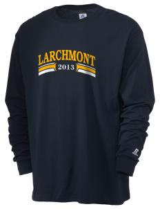 St Augustine Parish Larchmont  Russell Men's Long Sleeve T-Shirt