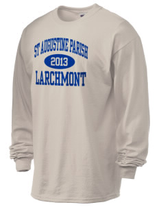 St Augustine Parish Larchmont 6.1 oz Ultra Cotton Long-Sleeve T-Shirt