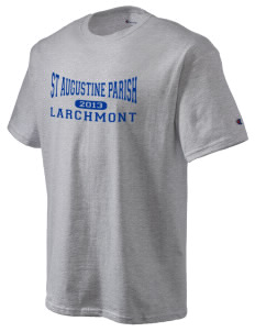St Augustine Parish Larchmont Champion Men's Tagless T-Shirt