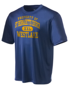 St Bernadette Church Westlake Champion Men's Wicking T-Shirt