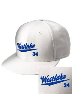 St Bernadette Church Westlake  Embroidered New Era Flat Bill Snapback Cap