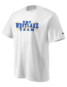 St Bernadette Church Westlake Champion Men's Tagless T-Shirt