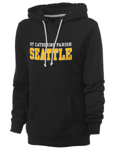 St Catherine Parish Seattle Women's Core Fleece Hooded Sweatshirt