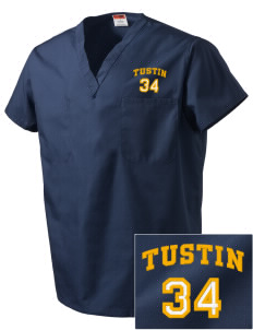 St Cecilia Parish (1957) Tustin Embroidered V-Neck Scrub Top