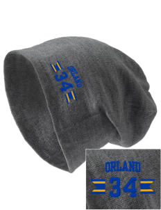 St Dominic Parish Orland Embroidered Slouch Beanie