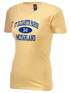 St Elizabeth Parish McFarland Alternative Women's Basic Crew T-Shirt