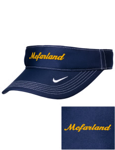 St Elizabeth Parish McFarland Embroidered Nike Golf Dri-Fit Swoosh Visor