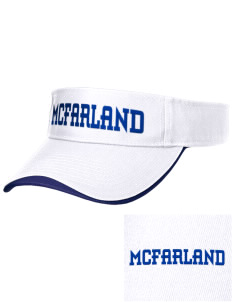 St Elizabeth Parish McFarland Embroidered Binding Visor