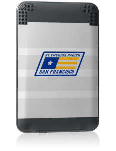 St Emydius Parish San Francisco Kindle Keyboard 3G Skin