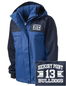Hickory Point Elementary School Bulldogs  Embroidered Women's Nootka Jacket