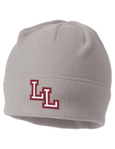 Lowell Longfellow Elementary School Lions Embroidered Fleece Beanie