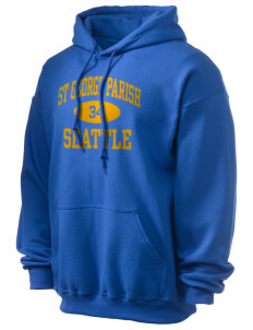 St George Parish Seattle Ultra Blend 50/50 Hooded Sweatshirt