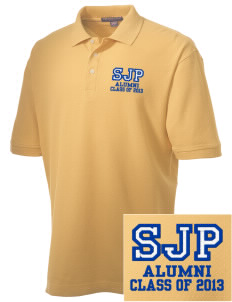 St James Parish Sauk Village Embroidered Men's Performance Plus Pique Polo