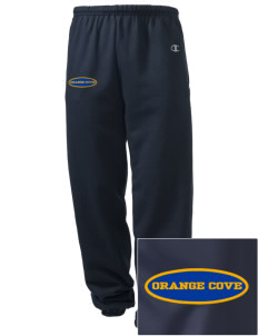 St Isadore The Farmer Parish Orange Cove Embroidered Champion Men's Sweatpants