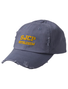 St John Capistrano Parish (1903) Bethlehem Embroidered Distressed Cap