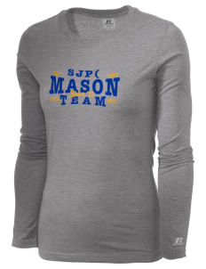 St Joseph Parish (Hispanic) Mason  Russell Women's Long Sleeve Campus T-Shirt