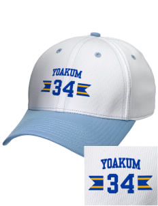 St Joseph Parish Yoakum Embroidered New Era Snapback Performance Mesh Contrast Bill Cap