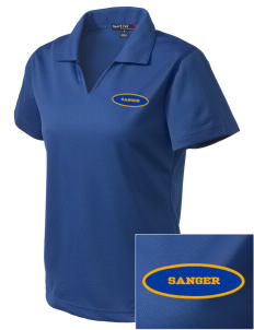 St Katherine Parish (Del Rey) Sanger Embroidered Women's Dri Mesh Polo