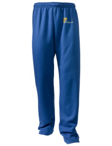 St Jude Parish (Usk) Newport Embroidered Holloway Men's 50/50 Sweatpants