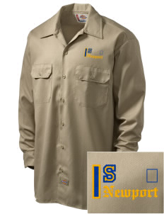 St Jude Parish (Usk) Newport Embroidered Dickies Men's Long-Sleeve Workshirt