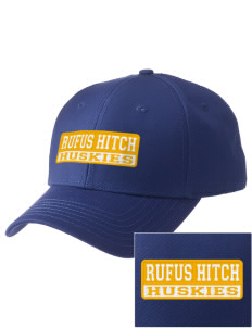 Rufus Hitch Elementary School Huskies  Embroidered New Era Adjustable Structured Cap