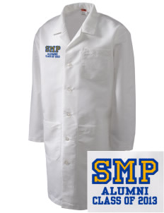 St Mary Parish Willimantic Full-Length Lab Coat