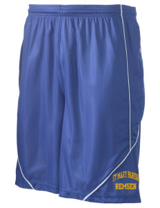 "St Mary Parish Remsen Men's Pocicharge Mesh Reversible Short, 9"" Inseam"