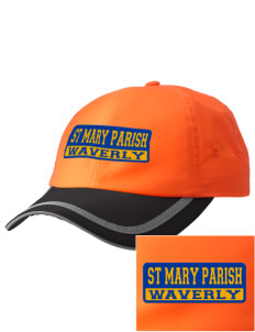 St Mary Parish Waverly  Embroidered Safety Cap