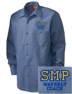 St Mary Parish Waverly Embroidered Men's Industrial Work Shirt - Regular