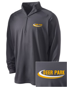St Mary's Presentatin Parish Deer Park Embroidered Men's Stretched Half Zip Pullover