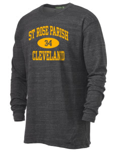 St Rose Parish Cleveland Alternative Men's 4.4 oz. Long-Sleeve T-Shirt