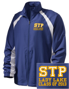 St. Timothy Parish School Lady Lake  Embroidered Men's Full Zip Warm Up Jacket